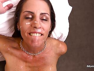 Sexy 45 Year-Old Mom Loves Cock